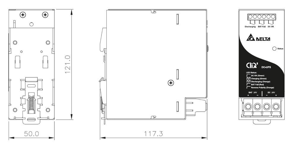 DRU 24V 40A DC UPS Module